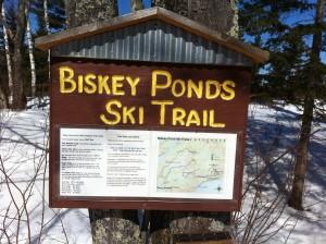 Biskey Ponds Entrance