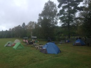 Troop 106 Camping in Munger's Field